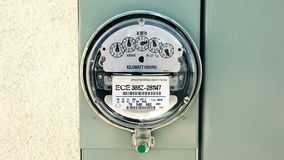Electricity Meter (Loopable) stock video