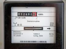 Electricity meters Stock Photo