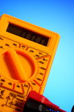 Electricity multimeter Royalty Free Stock Photography