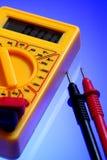 Electricity multimeter Stock Photo