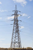 Electricity pillars Stock Photography