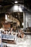 Electricity plant abandoned Stock Image