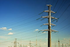 Electricity plant Royalty Free Stock Images