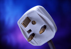 Electricity plug Royalty Free Stock Photography