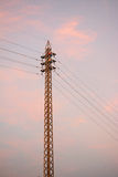Electricity pole Royalty Free Stock Image