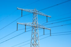Free Electricity Poles Royalty Free Stock Images - 18992849
