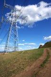 Electricity poles Royalty Free Stock Photos
