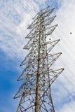 Electricity poles. On Background Blue sky Royalty Free Stock Photography
