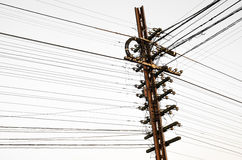 Free Electricity Post Royalty Free Stock Photos - 27569738