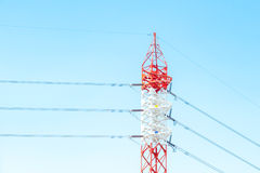 Electricity post Stock Photos