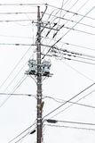 Electricity post at Japan Stock Images
