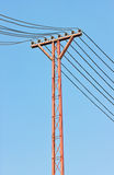 Electricity Post. Stock Photos