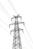 Electricity post Royalty Free Stock Photography
