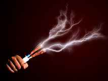 Electricity. Royalty Free Stock Photography
