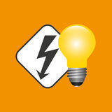 electricity power icon Stock Photography