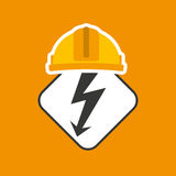 Electricity power icon Royalty Free Stock Photos