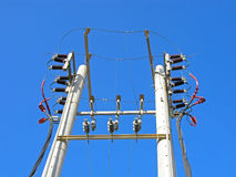 Electricity power line Royalty Free Stock Image