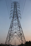Electricity power line Stock Photography