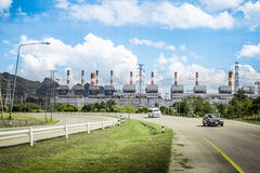 Electricity power plant Royalty Free Stock Photos