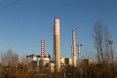 Electricity power plant Royalty Free Stock Photography
