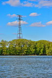Electricity power pylon Royalty Free Stock Photo