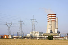 Electricity power station Royalty Free Stock Image