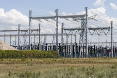 Electricity power station Stock Photography