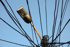 Electricity in Prizren Kosovo Stock Image