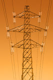 Electricity pylon Royalty Free Stock Images