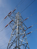 Electricity pylon Stock Image