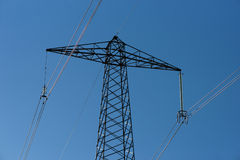 Electricity pylon Stock Images