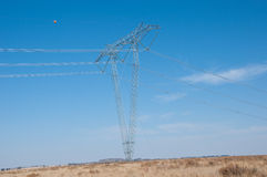 Electricity Pylon. Royalty Free Stock Photo