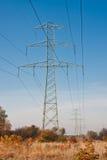 Electricity pylon Stock Photos