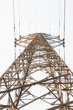 The electricity pylon Stock Photos