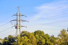 Electricity Pylon Royalty Free Stock Photography