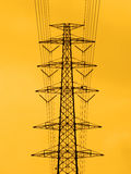 High voltage towers. Stock Image