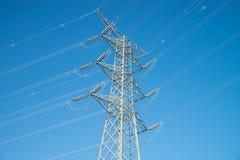 Electricity pylon Royalty Free Stock Photos