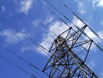 Electricity Pylon / Tower Royalty Free Stock Photo