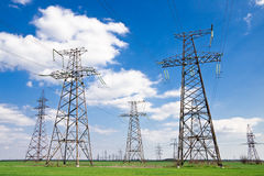 Electricity pylon or tower Royalty Free Stock Photography