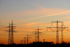 Free Electricity Pylons Royalty Free Stock Photography - 11311367