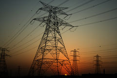 Free Electricity Pylons Stock Photography - 9480172