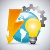 Electricity service Royalty Free Stock Images