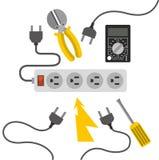 Electricity service Stock Photos