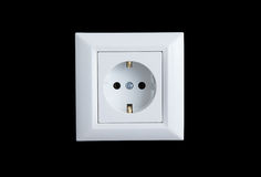 Electricity socket Royalty Free Stock Photography