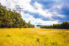 Electricity Somewhere in South Africa. Electricity Somewhere in the country in South Africa Royalty Free Stock Photos