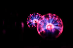 Electricity static fire-ball. Stock Images