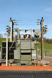Electricity Sub Station Royalty Free Stock Photography
