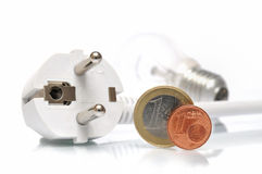 Electricity supplies Stock Image