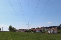 Electricity supply. Royalty Free Stock Photography