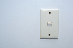 Electricity switch Stock Photo